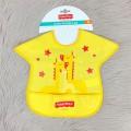 Zürafa Temalı Cepli Mama Önlüğü - Sarı