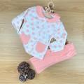 Bebe Yaka Filli Pijama Takımı - Yavru Ağzı