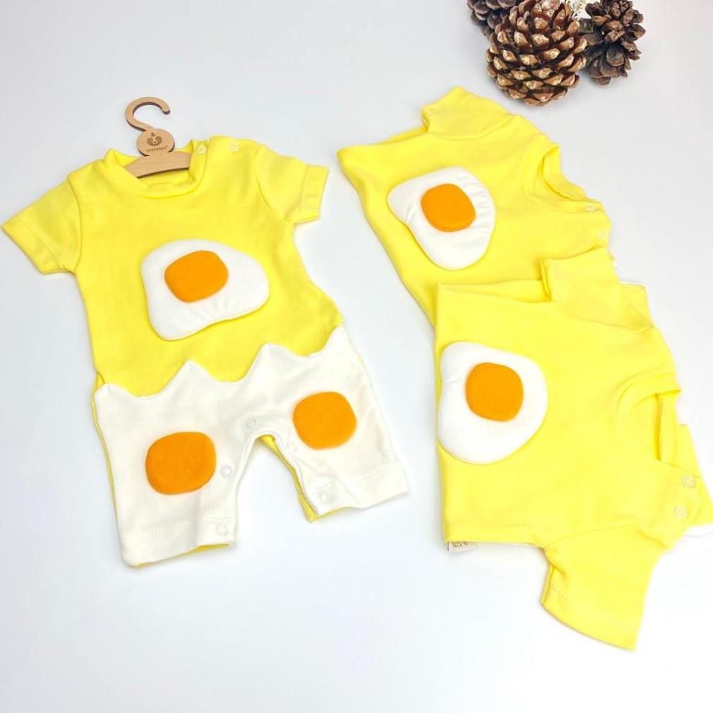 Yumurta Temalı Tulum - Sarı
