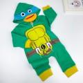 Ninja Kaplumbağalı Tulum - Yeşil