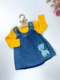 Kız Jile Elbise - Mavi